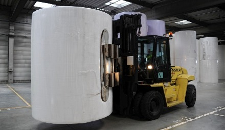 Forklift_at_SCA_factory
