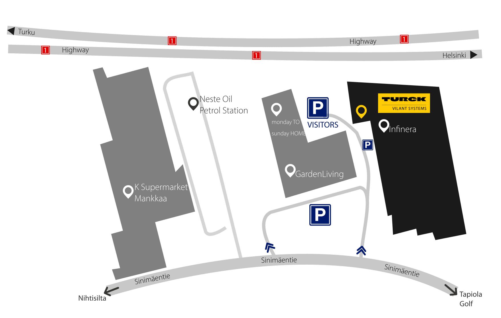 Visit Turck Vilant Systems Espoo office