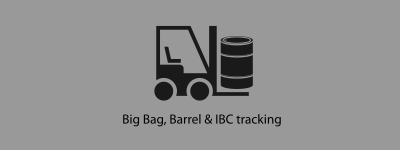 RFID for bigbags, barrels and ibcs