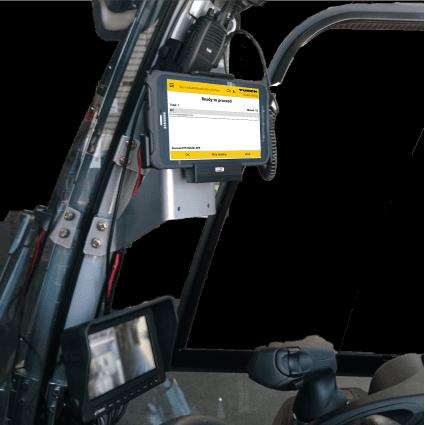 Forklift RFID