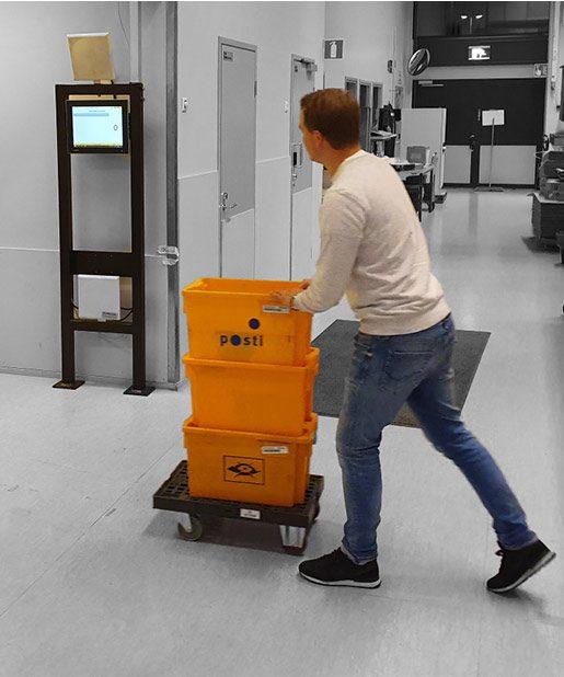 RFID Gate tests at Turck Vilant Systems