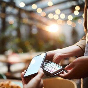 NFC RFID is used for payments